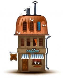 graphic design for coffee shops and restaurants