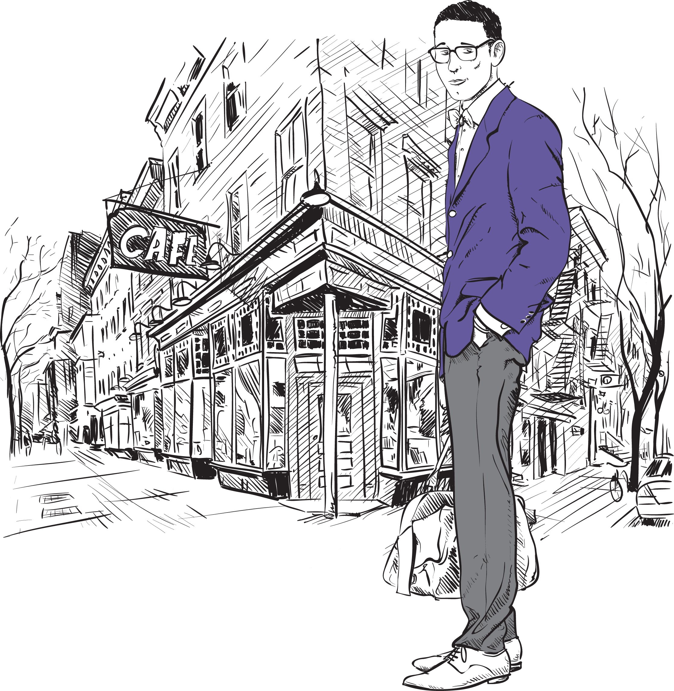 fashion-men-with-bag-and-glasses-in-sketch-style-on-a-street-cafe-backgroun_7k-yQL [Converted]