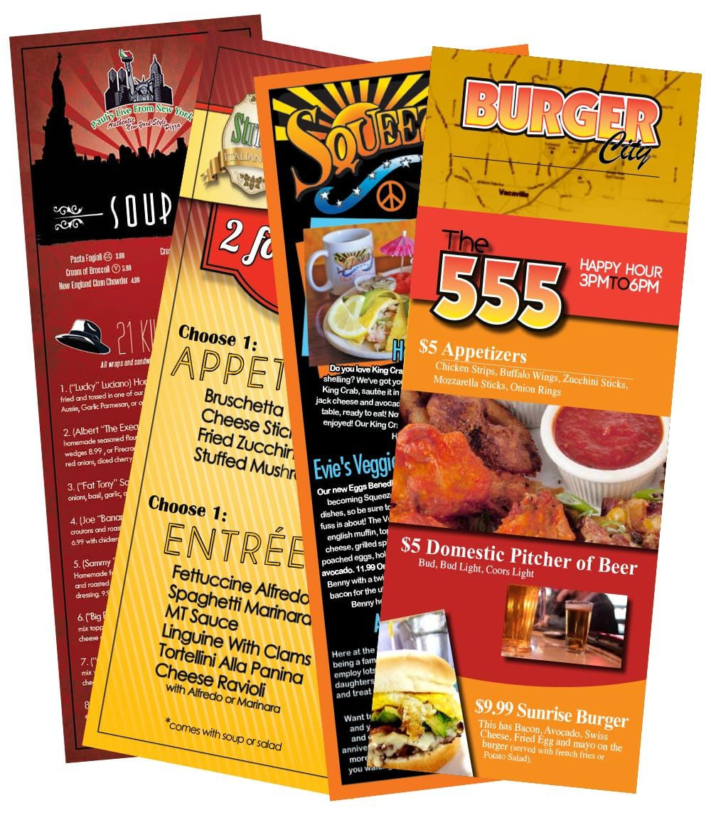 restaurant slugger design and printing