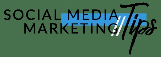 social media marketing tips logo