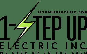 Creative 7 Designs Logo Design: 1 Step Up Electric