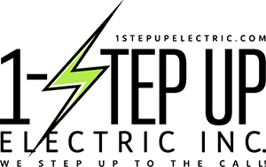 Creative 7 Designs Logo Design: 1 Step Up Electric