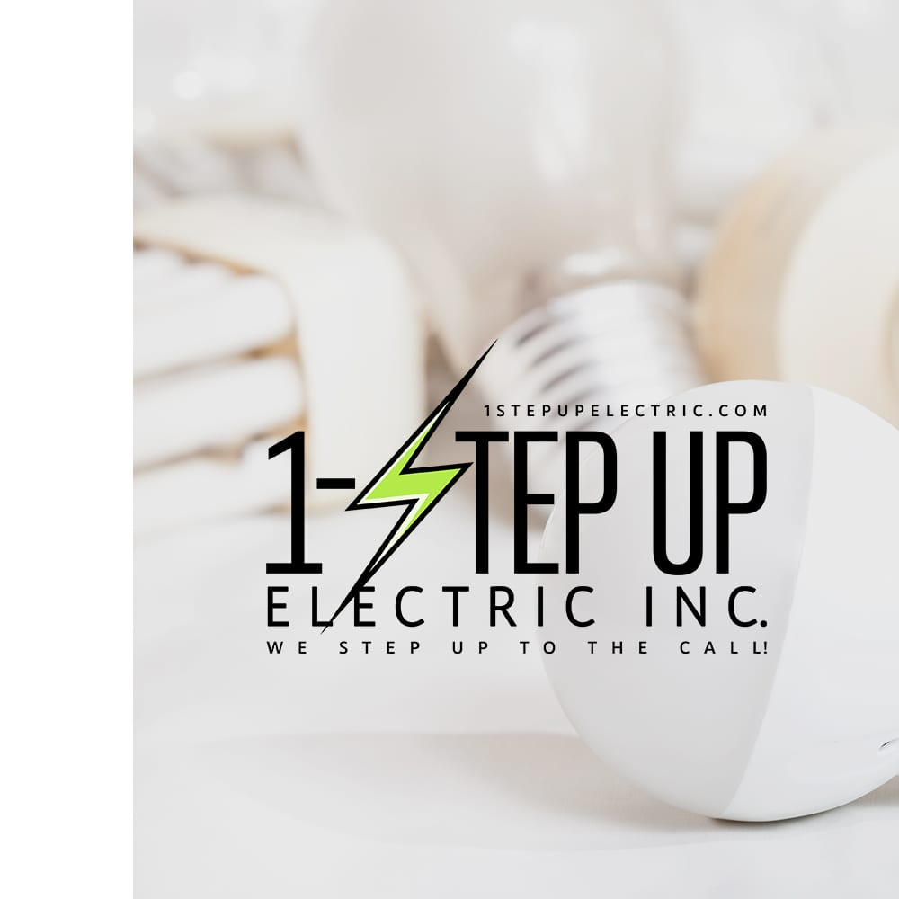 Creative 7 Designs Client: 1-Step Up Electric