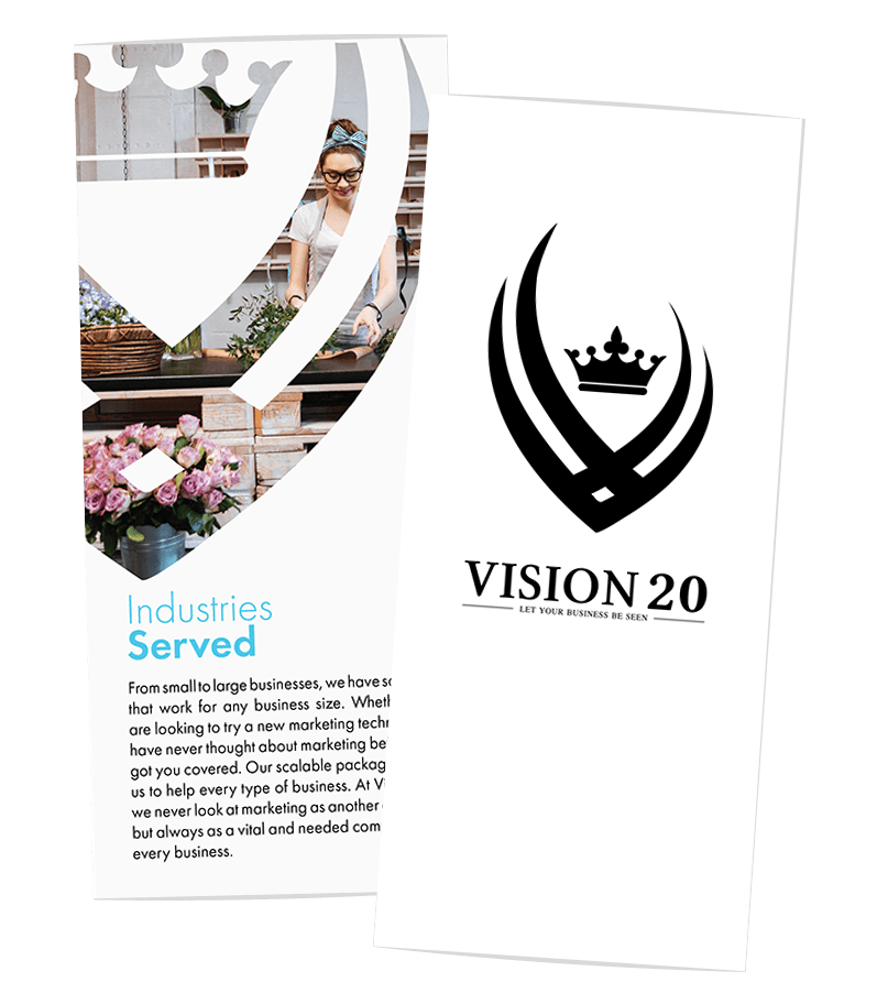 Creative 7 Designs Trifold Design: Vision 20