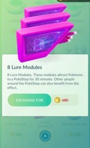 pokemon go lures