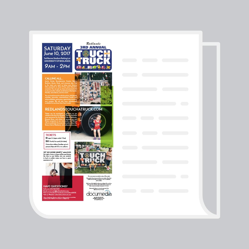 ads for print cover