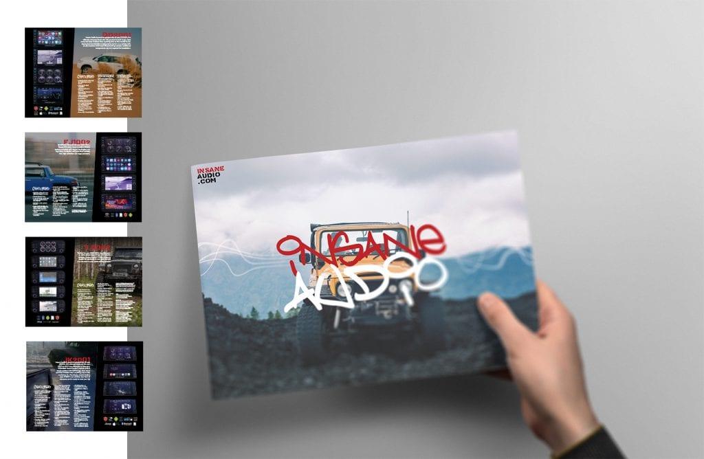 Creative 7 Designs Booklet Design: Insane Audio