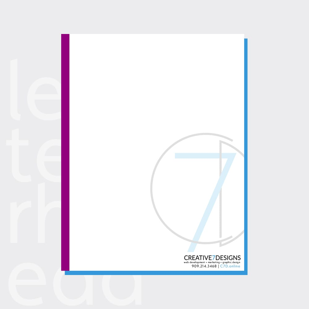 Letterhead Cover Design