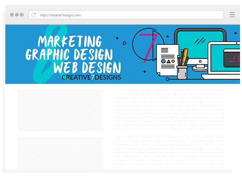 Creative 7 Designs Advertisement Service