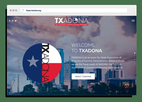 Creative 7 Designs Website Design: TXADONA