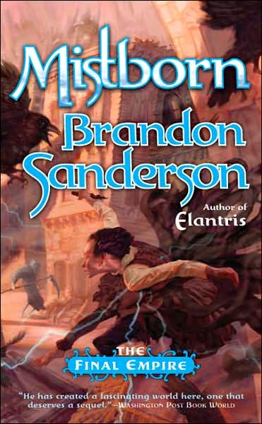 Cover Art of Mistborn by Brandon Sanderson