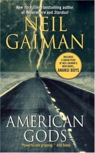 Cover Art of American Gods by Neil Gaiman