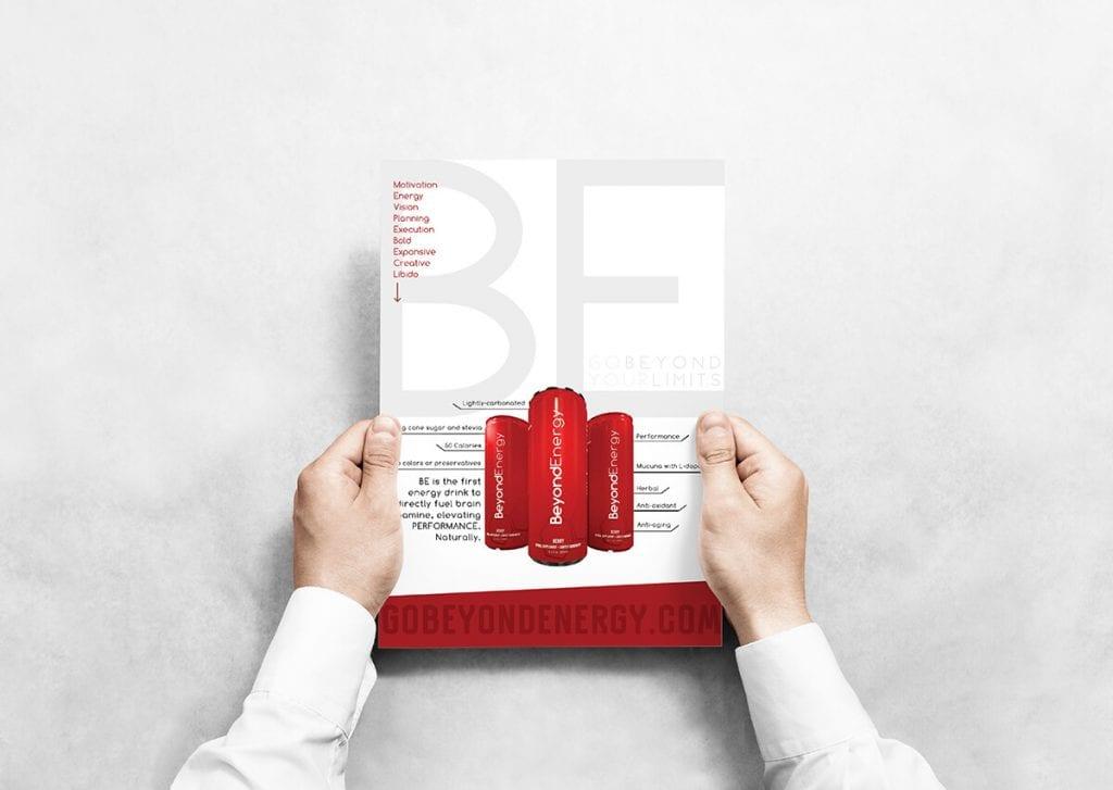 Beyond Energy Flyer Design by Creative 7 Designs