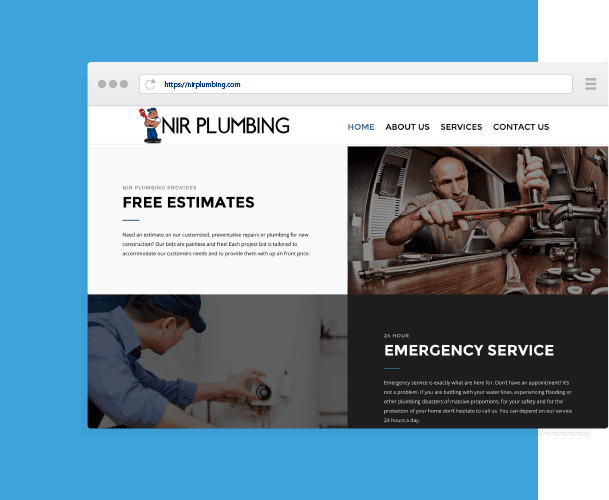 NIR website Design by Creative 7 Designs