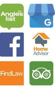 Review Platform Logos