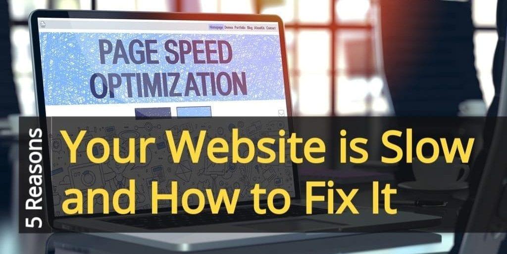 Website page optimization